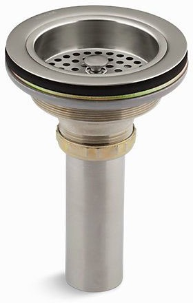 Duostrainer Vibrant Brushed Nickel