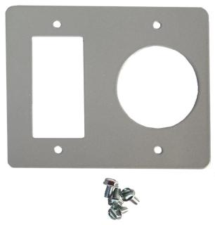 MILB K5935-41 BRIDGE PLATE FOR (1) NEMA 5-20 & (1) TT-30