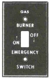 MULB 41020 1G GAS BURNER SW PLT