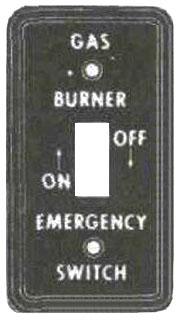 MULB 41024 1G GAS HANDY BURNER CVR