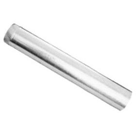 "3"" X 30"" Round Gas Vent Pipe, Galvanized Sheet Metal"