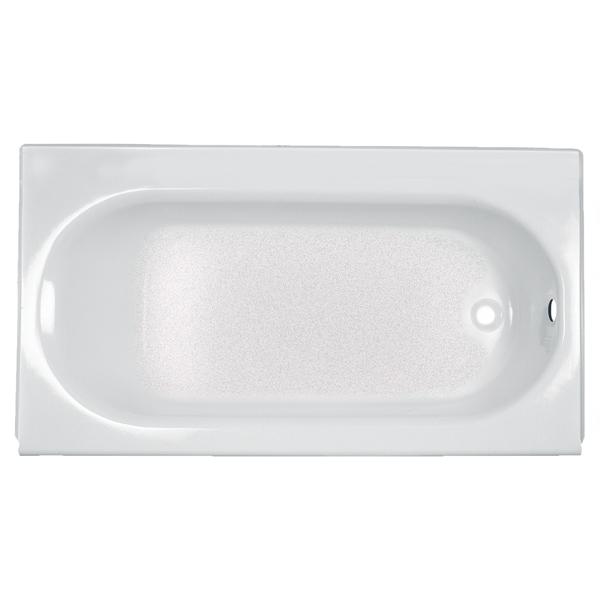 "60"" x 30"" x 14"" Alcove Bathtub - Princeton, White Glossy Porcelain"