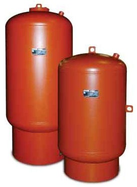 Vertical Water Heater Expansion Tank, Lead-Free Urethane Topcoated Steel