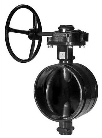 """8"""" Gruvlok Grooved Butterfly Valve, Ductile Iron"""
