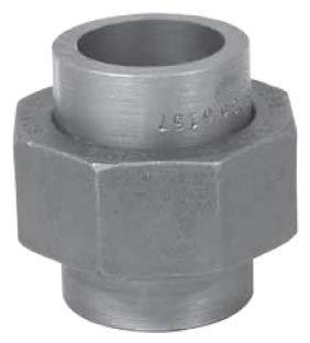 "1"" Carbon Steel Straight Union"