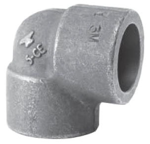"1"" Carbon Steel 90D Elbow"