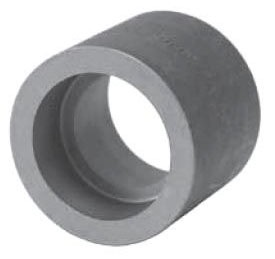"1-1/2"" Carbon Steel Straight Coupling"