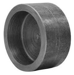 "2"" Carbon Steel Round/Flat Head Cap"