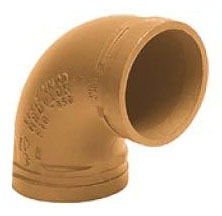 """2"""" Lead-Free Ductile Iron 90D Elbow"""