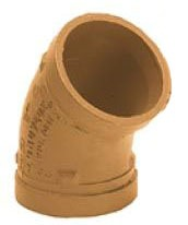 """2"""" Lead-Free Ductile Iron 45D Elbow"""