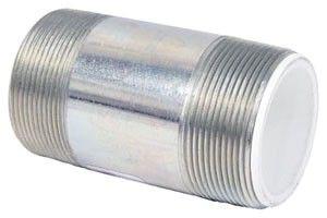 "1-1/2"" X 4"" Steel/Polypropylene Straight Dielectric Nipple"