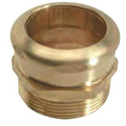 """Brass Male Connector 1-1/2"""""""
