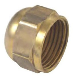 "5/8"" Brass Hex Head Cap"