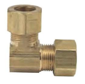 """1/4"""" Brass Union 90D Elbow"""