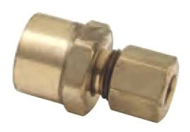 "3/8"" Outer Diameter Compression x Female Threaded Adapter"