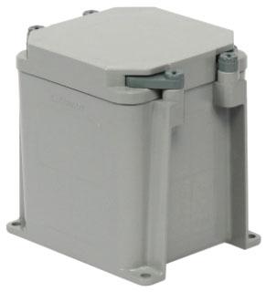 KRALOY 278301 JBX444 4X4X4 PVC JUNCTION BOX