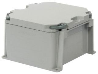 KRALOY 278304 JBX664 6X6X4 PVC JUNCTION BOX