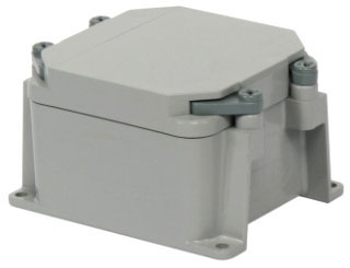 KRALOY 278300 JBX442 4X4X2 PVC JUNCTION BOX W/COVER
