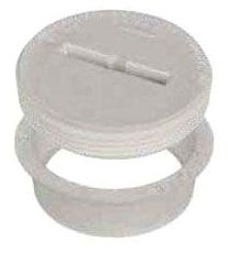"""3"""" ABS-DWV Cleanout with 1-1/2"""" Countersunk Plug - AB&A, Quick-Fit"""