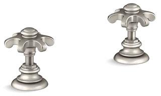 Kohler K-98068-3M-BN Artifacts Bathroom Sink Prong Handles
