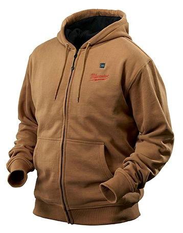M12, REDLITHIUM Safety Heated Hoodie, Cotton Blend