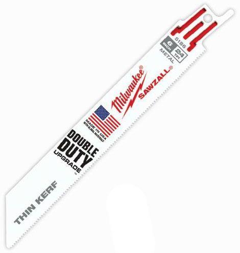 """6"""" 24 Teeth per Inch Straight Back Saw Blade"""