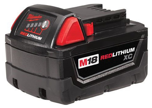 18 V Lithium-Ion Compact Power Tool Battery Pack - M18 / REDLITHIUM XC, Extended Capacity, 3 AH