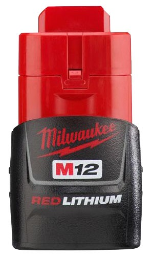 12 V Lithium-Ion Compact Power Tool Battery Pack - M18 / REDLITHIUM, 1.5 AH