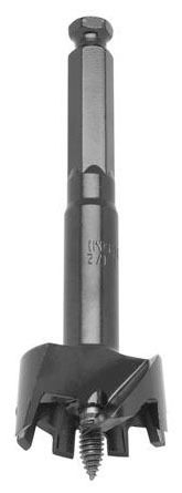 """1-1/2"""" Self-Feed Bit - Alloy Steel, Clamshell Pack"""