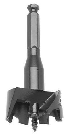 """2-1/8"""" Self-Feed Bit - Alloy Steel, Clamshell Pack"""
