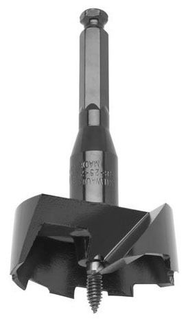 """2-9/16"""" Self-Feed Bit - Alloy Steel, Clamshell Pack"""