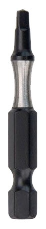 "2"" Square Recess Power Bit, Heat Treated Tool Steel"
