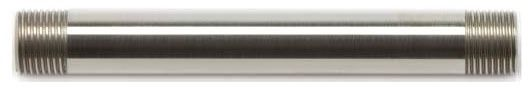 """Brushed Nickel 6"""" Straight Shower Arm"""