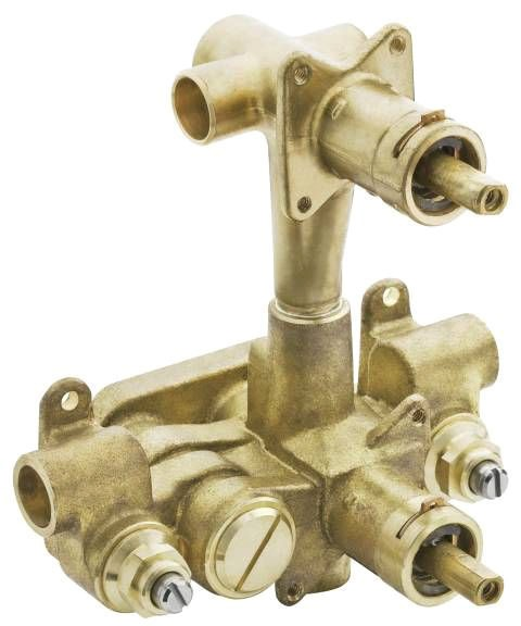 Moentrol Soldered Tub and Shower Valve, Brass