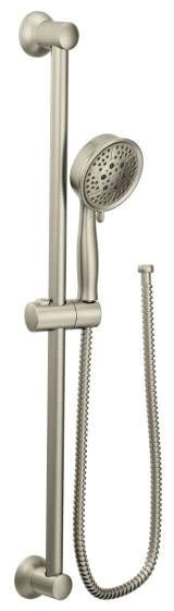 """Eco-Performance Hand Shower - 4-3/8"""" Face, Brushed Nickel, 4-Way, 2 GPM at 80 psi"""