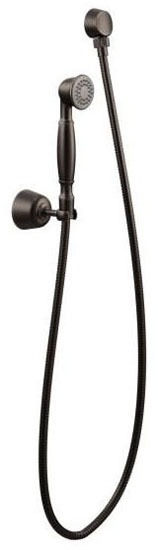 """Hand Shower - 2"""" Face, Oil Rubbed Bronze, 1-Way, 2.5 GPM at 80 psi"""