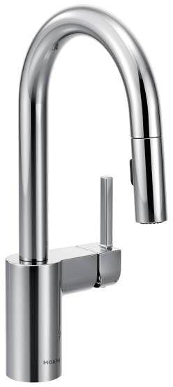 Align Deck Mount Bar Faucet, Chrome Plated
