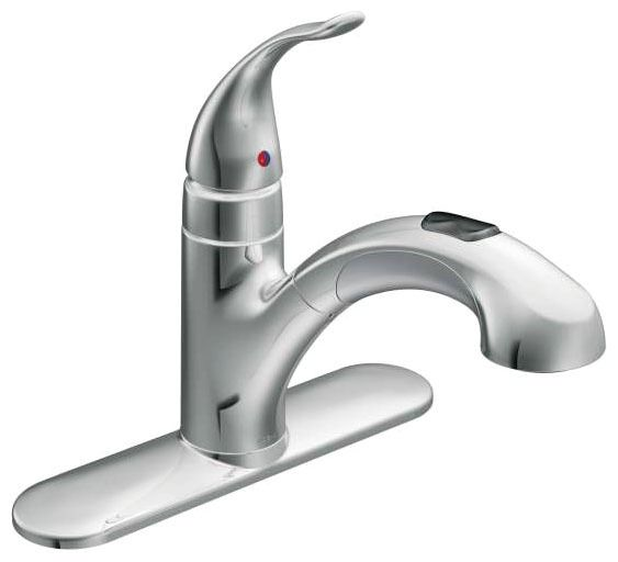 Integra Deck Mount Kitchen Faucet, Chrome Plated