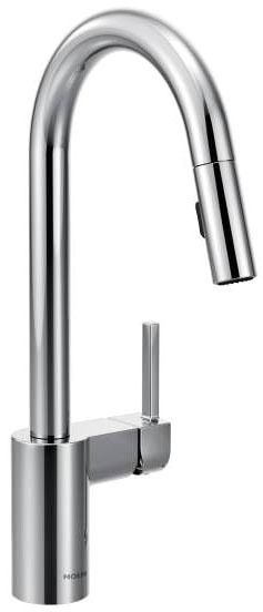 Align Deck Mount Kitchen Faucet, Chrome Plated