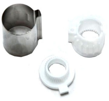Chateau, Monticello, Posi-Temp Stop Tube Tub and Shower Faucet Valve Stop Tube Kit, Chrome Plated