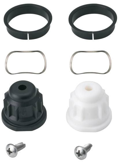 Hot/Cold Bar Faucet Handle Adapter Kit