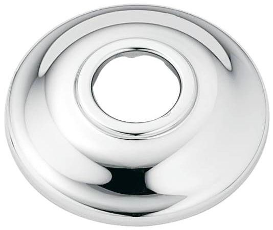 Kingsley, Posi-Temp Low Pattern Shower Arm Flange, Chrome Plated