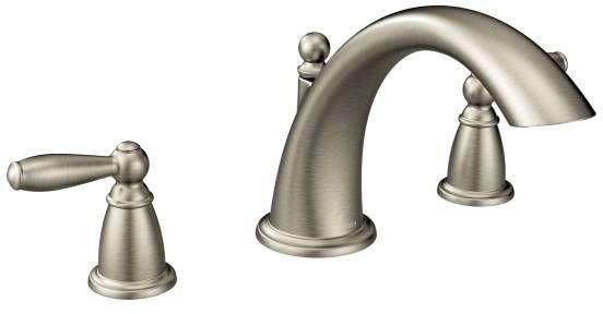 Brantford Deck Mount Tub Faucet, Brushed Nickel