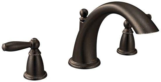 Brantford Deck Mount Tub Faucet, Oil Rubbed Bronze