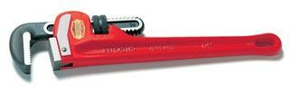 Straight Pipe Wrench, Cast Iron/Alloy Steel
