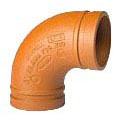 "3"" Ductile Iron 90D Elbow"