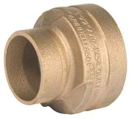 """5"""" x 3"""" Grooved x Grooved Cast Copper Alloy 40S Concentric Reducer"""