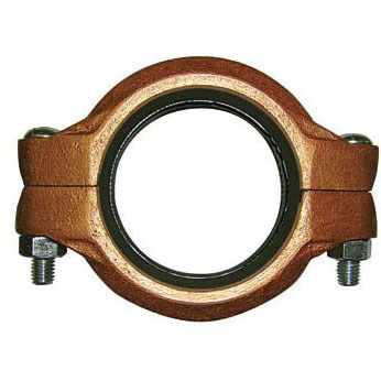 """2-1/2"""" Ductile Iron Rigid Straight Coupling - Grooved"""
