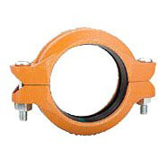 """4"""" Ductile Iron Rigid Straight Coupling - Grooved"""