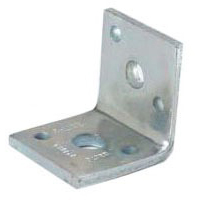 """1/2"""" Steel Reversible Pipe Support Angle Clip"""